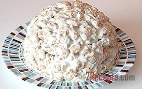 Торт без выпечки из крекера - рецепт пошаговый с фото
