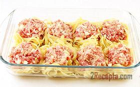 Гнезда из макарон в духовке рецепт пошагово с фото — pic 9