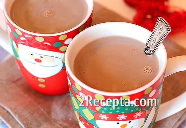 какао с молоком в мультиварке