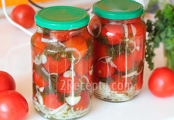 Соленые помидоры рецепт на зиму 3 литровая банка