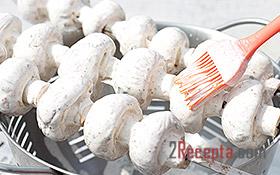 Быстрые маринованные шампиньоны - рецепт с пошаговыми фото - Меню недели