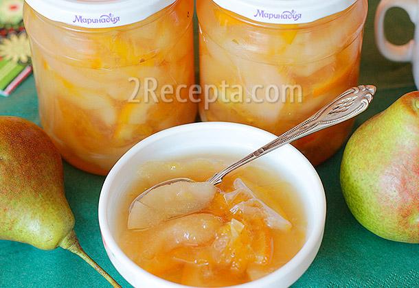 Варенье из груш с апельсином на зиму рецепты — pic 4