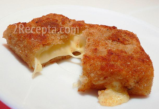 Сыр жареный в кляре рецепт с фото пошагово